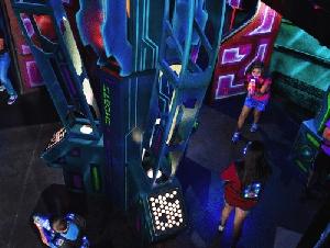 indoor laser tag